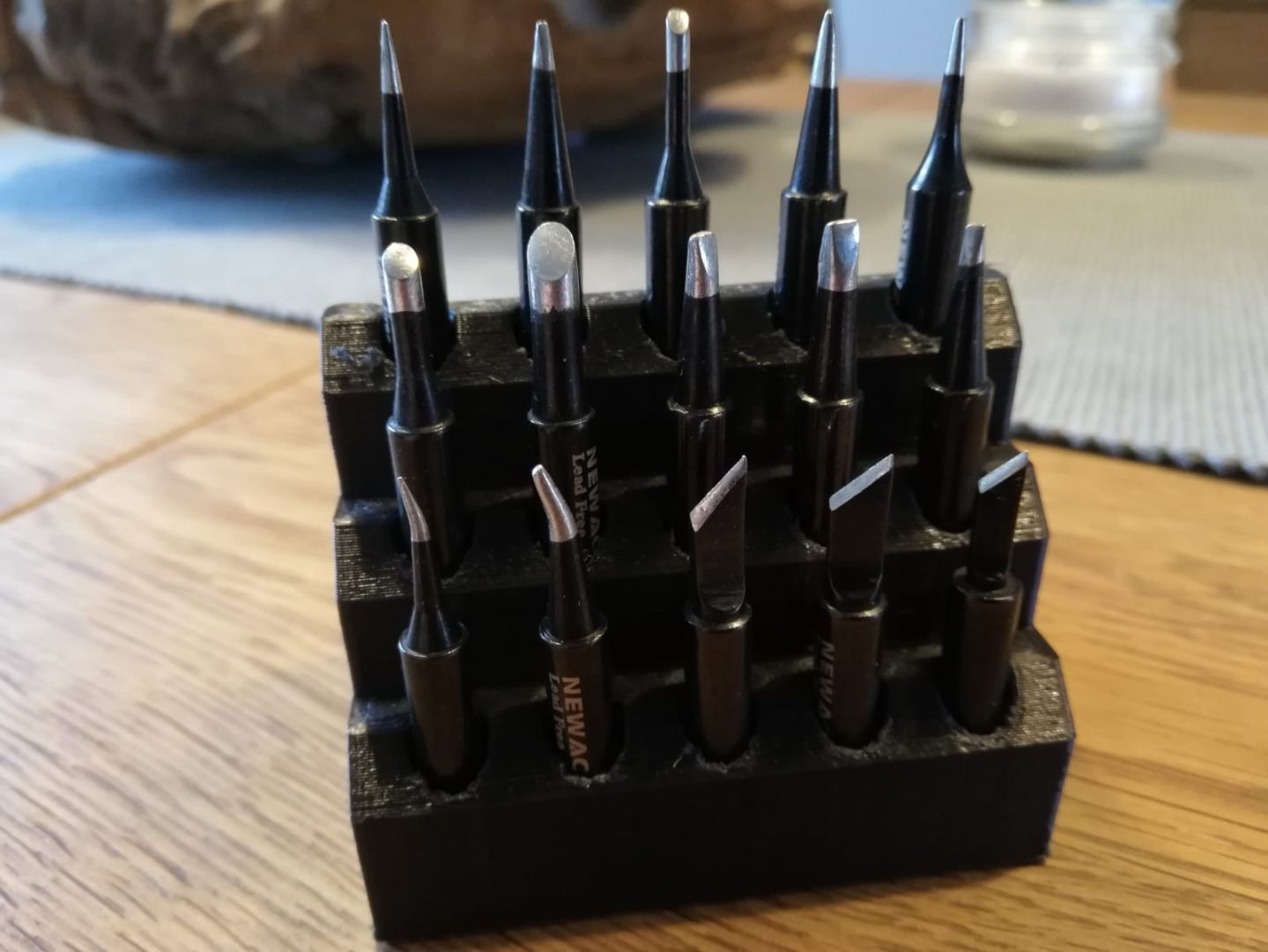 houder voor nabewerkings tools